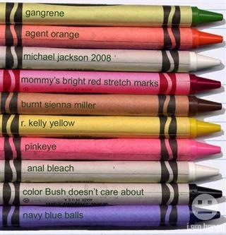 Not So Safe Crayon Colors