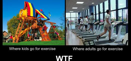 Exercising Fail - Then vs Now