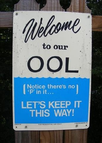 The OOL is open. Want to go for a swim?