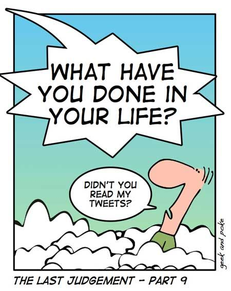 Does God Read Our Tweets?