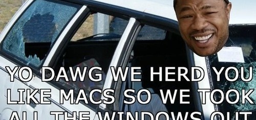 I Heard You Like Macs, So I Removed Your Windows