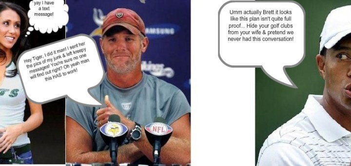 Brett Favre Should Not Take Advice From Tiger Woods