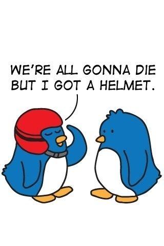 Twitter Can Be Dangerous. Get A Helmet.