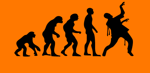 Evolution of Zombies