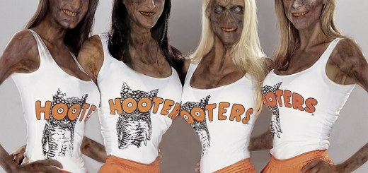 Zombie Hooters Girls