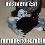 LOL Zombie Cats Immune