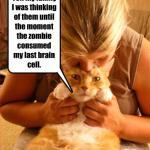 LOL Zombie Cats Get Eaten