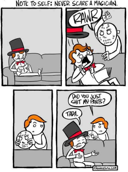 Don't Mess With A Magician