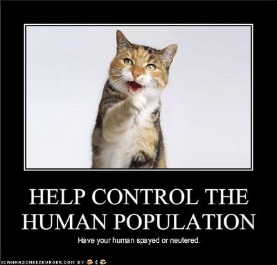 Help Control The Human Population