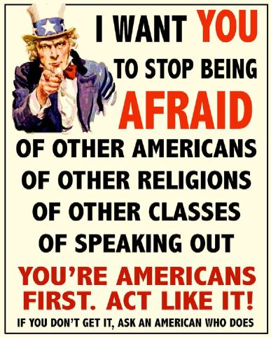 Stop Being Afraid