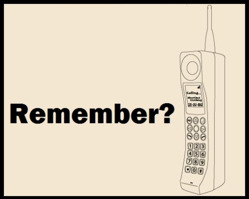 Remember Real Cell Phones?