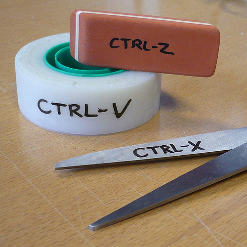 Cut, Copy, Paste - In Real Life