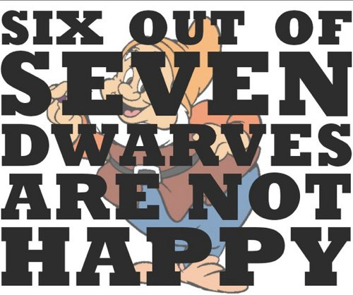 Most Dwarves Are Not Happy