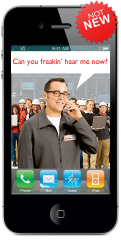 Verizon Guy iPhone 4