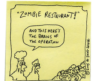 Zombie Restaurant - The Brains
