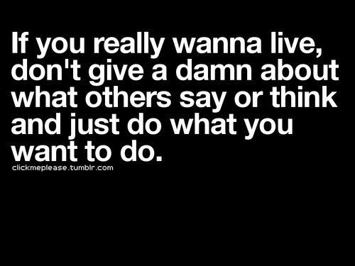 Do You Really Want To Live?