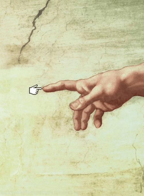 Digital Art Meets Old Art