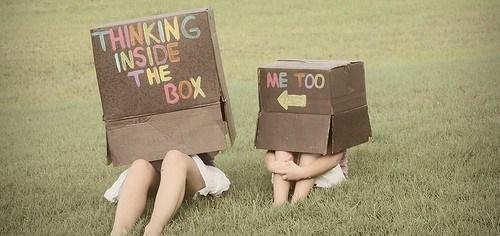 Thinking inside the box.