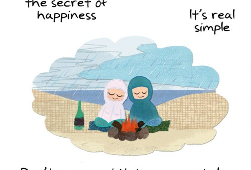 The Key To Happiness is Simple...