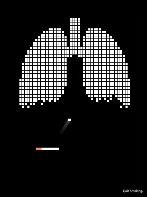 Smoking is like a game. But who wins?