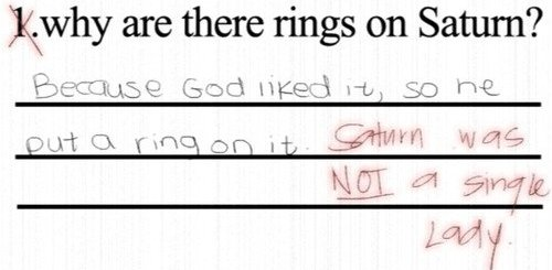 Why are there rings on Saturn?
