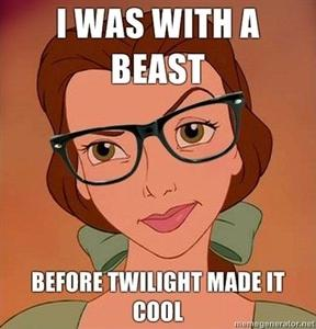 I was with a beats before Twilight made it cool.