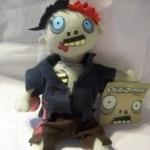 Dismember-Me Plush Zombie