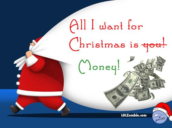 Christmas Love or Money?