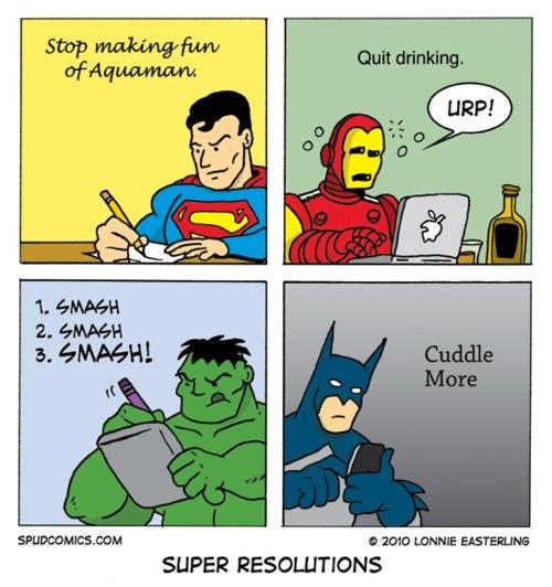 Super Hero Resolutions