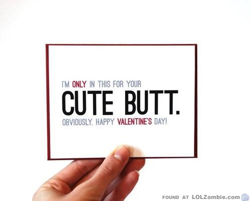 Valentines Butt