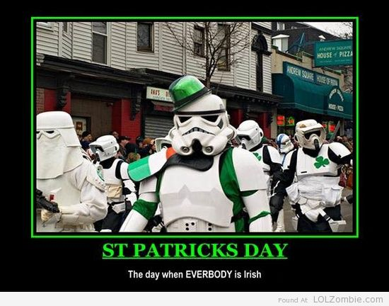 Star Wars St. Patricks
