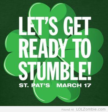 St Patricks Day Stumble