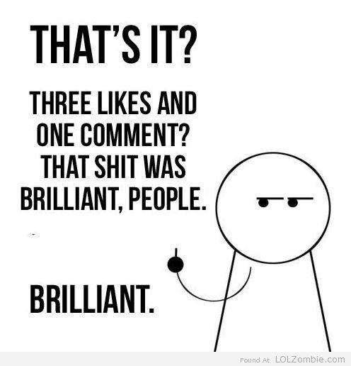 Facebook Like Shit