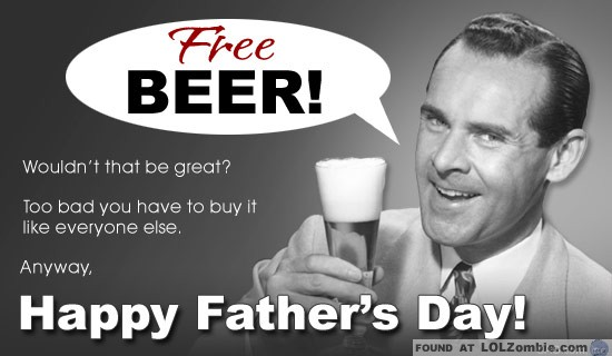 Father's Day Free Beer