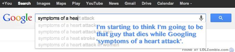 Google Heart Attack