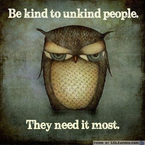 Unkind Owl