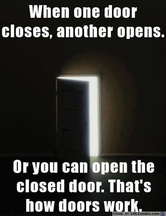 Open Closed Doors