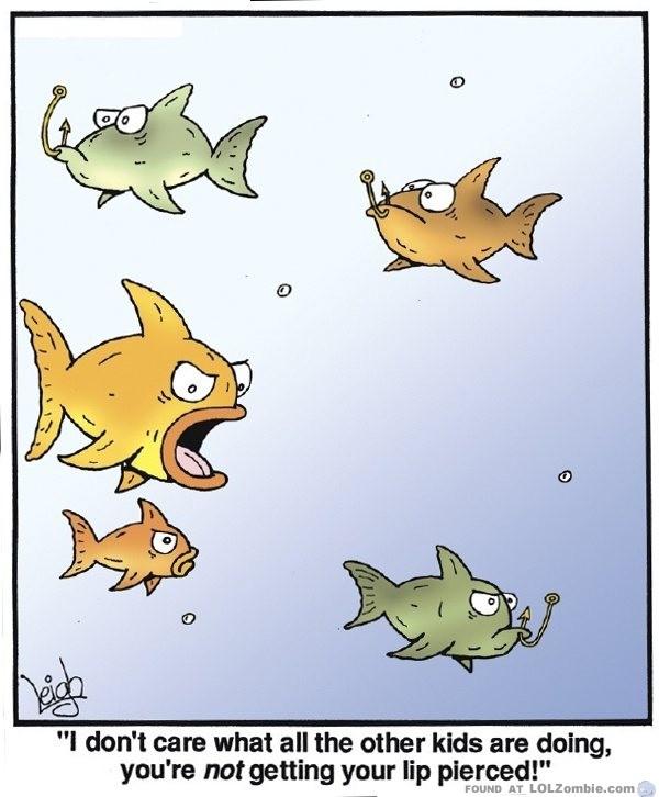 fish lip piercing hooks
