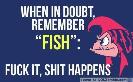 fish - angry fish
