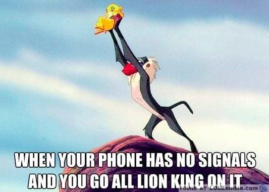 Lion King Phone