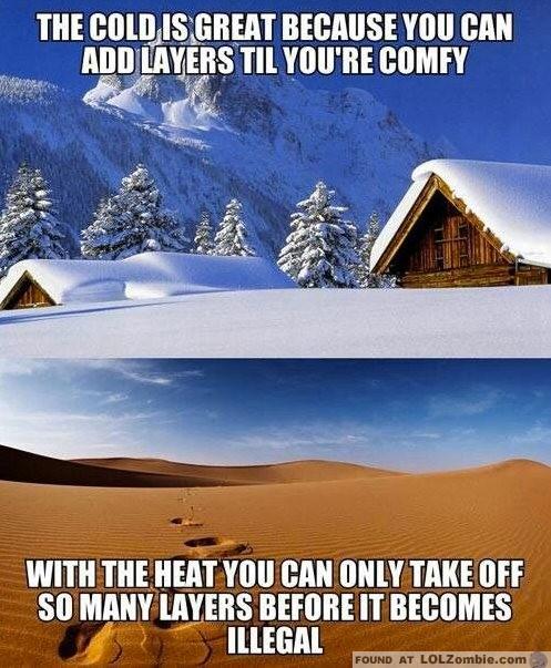 Cold vs Hot
