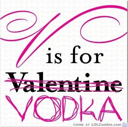 V Is For Vodka
