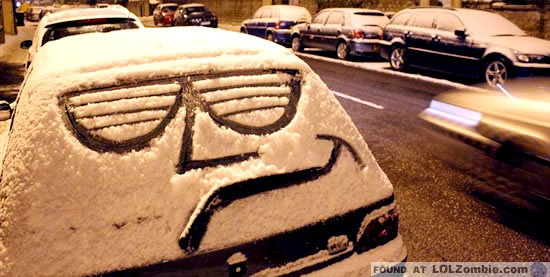 Cool Winter Car