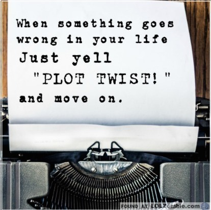 Typewriter - Plot Twist Paper