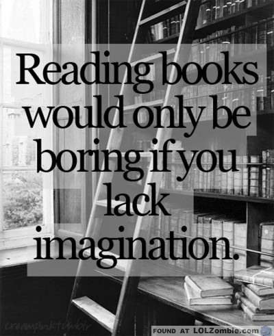 Reading Books Imagination