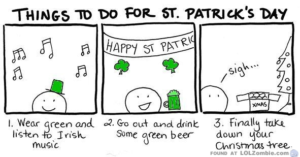 St Patricks Day Plans