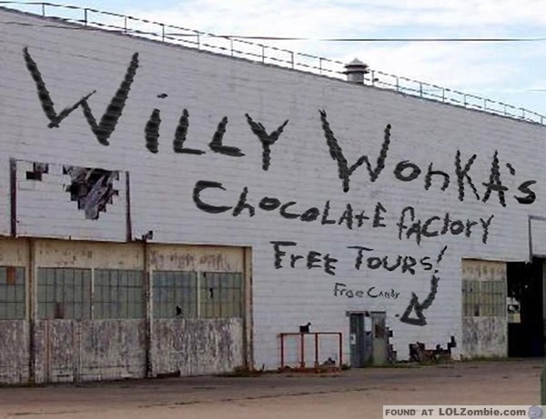 The chocolate factory 24 head hunters and cum drinkers