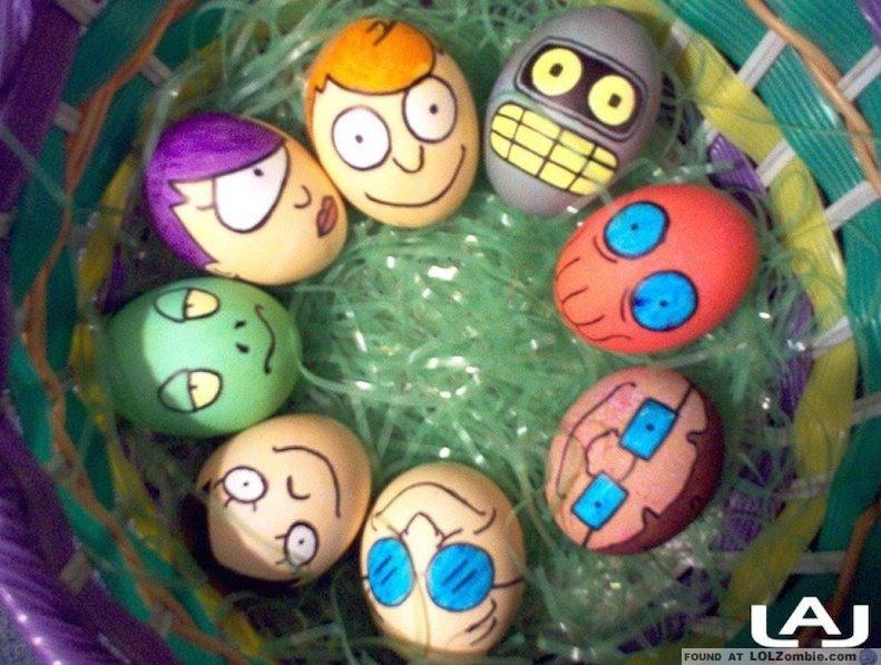 Futurama Easter Eggs