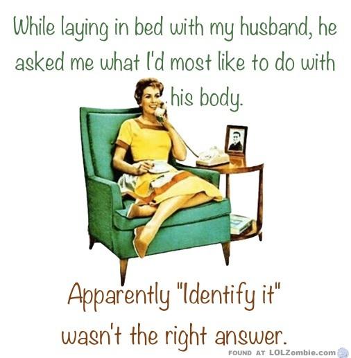 identify body