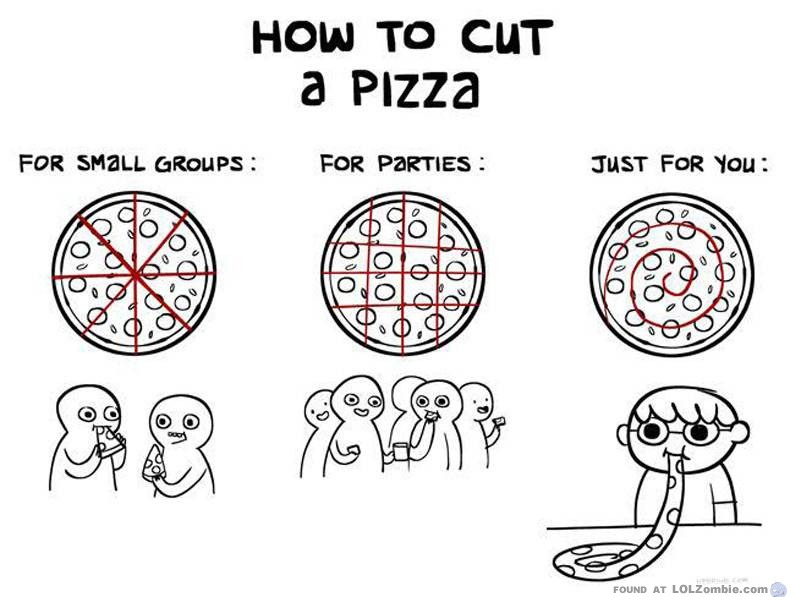 Cut a Pizza